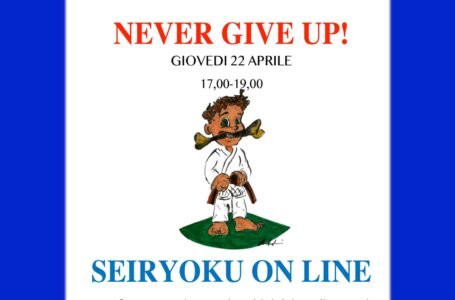 NEVER GIVE UP! – SEIRYOKU ON LINE