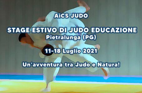 Stage Estivo di Judo Educazione a Pietralunga